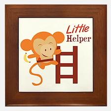 Little Helper Framed Tile