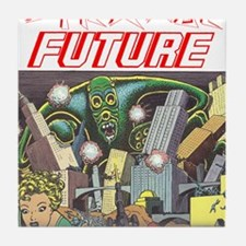 Strange Future Tile Coaster