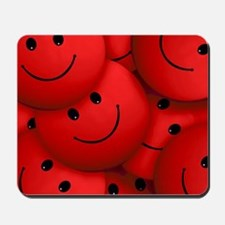 Smile red Mousepad