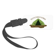 Camping Tent Luggage Tag