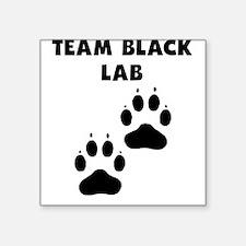 Team Black Lab Sticker