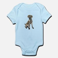 Brindle Great Dane Pup Infant Bodysuit