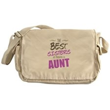 Great Sisters Get Promoted To Aunt Messenger Bag