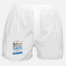 Great Dads Get Promoted to Grandpa Boxer Shorts