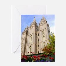 Springtime Salt Lake Temple Greeting Cards