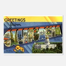 Greetings from California Postcards (Package of 8)