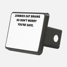 ZOMBIES EAT BRAINS Hitch Cover