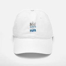 Great Dads Get Promoted to Papa Baseball Baseball Baseball Cap