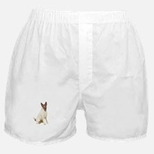 Fox Terrier (brwn-w) Boxer Shorts