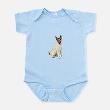 Fox Terrier (brwn-w) Infant Bodysuit