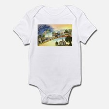 Greetings from Connecticut Infant Bodysuit