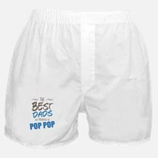 Great Dads Get Promoted to Pop Pop Boxer Shorts