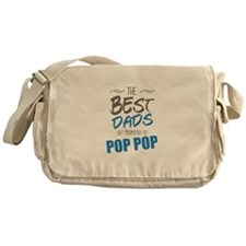Great Dads Get Promoted to Pop Pop Messenger Bag