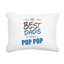 Great Dads Get Promoted to Pop Pop Rectangular Can