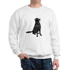 Flat Coated Retrvr (C) Sweatshirt