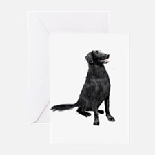 Flat Coated Retrvr (C) Greeting Cards (Pk of 10)