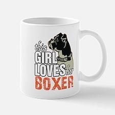 This Girl Loves Her Boxer Mugs