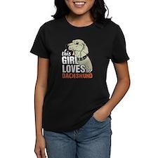 This Girl Loves Her Dachshund T-Shirt