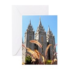 Mormon Salt Lake Temple Greeting Cards