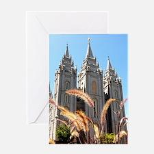 Mormon Salt Lake Temple Greeting Cards