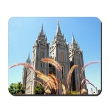 Mormon Salt Lake Temple Mousepad