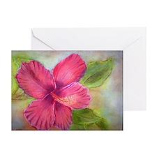"""""""Kauai Hibiscus"""" Greeting Cards (Pk of 10)"""
