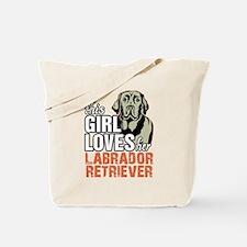 This Girl Loves Her Labrador Retriever Tote Bag