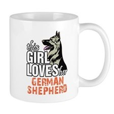 This Girl Loves Her German Shepherd Mugs