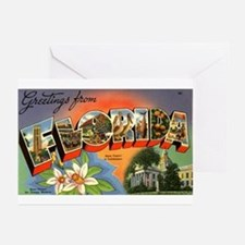 Greetings from Florida Greeting Cards (Package of