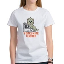 This Girl Loves Her Yorkshire Terrier T-Shirt