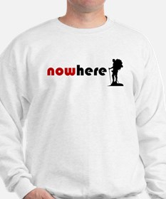 Nowhere (hiker) Sweatshirt