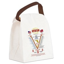 U.S. CIVIL WAR BATTLE OF ANTIETAM Canvas Lunch Bag