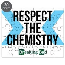 Respect the chemistry - breaking bad Puzzle