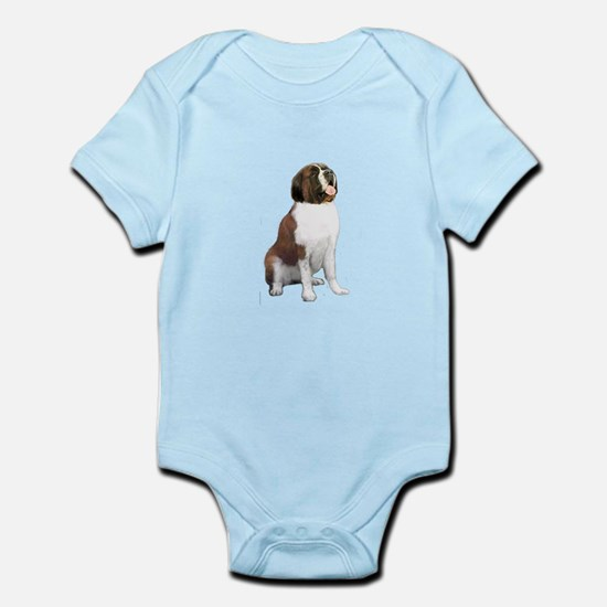 St Bernard #1 Infant Bodysuit