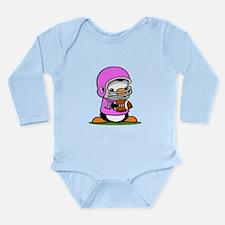 Football (E) Long Sleeve Infant Bodysuit