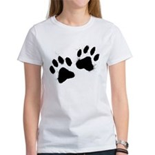 Pair Of Black Paw T-Shirt