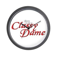 CLASSY DAME Wall Clock