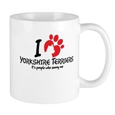 I Love Yorkshire Terriers It's People Who Annoy Me