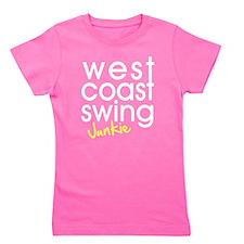 West Coast Swing Junkie Girl's Tee