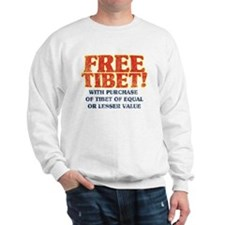 Free Tibet With Purchase Sweatshirt