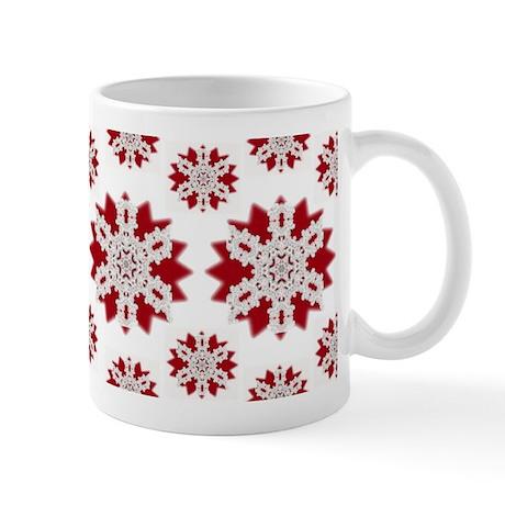 Christmas Snowflakes Mug - Busy