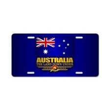 Australia (v15) Aluminum License Plate
