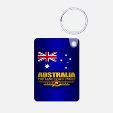 Australia (v15) Keychains