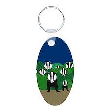 Badger Keychains