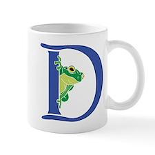 Blue Frog D Mugs