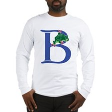Blue Frog B Long Sleeve T-Shirt
