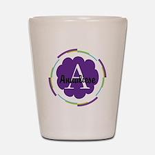 Personalized Name Monogram Gift Shot Glass