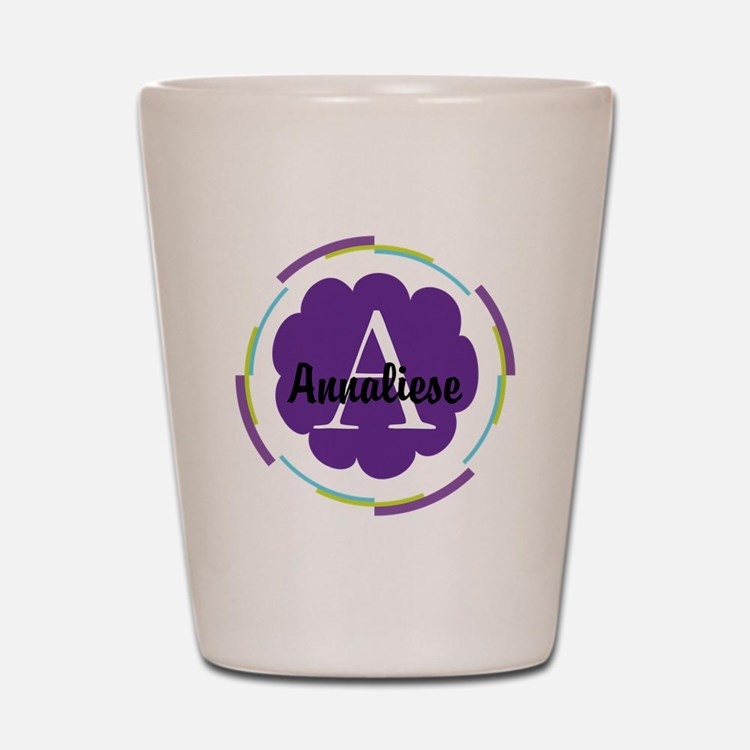 Personalized Name Monogram Gift Shot Glass