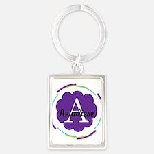 Personalized Name Monogram Gift Keychains