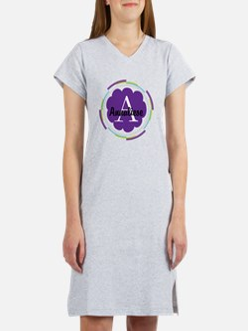 Personalized Name Monogram Gift Women's Nightshirt